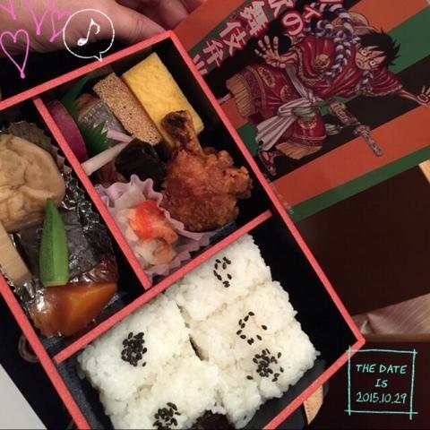 ワンピース スーパー歌舞伎�U ルフィーの歌舞伎弁当.jpg